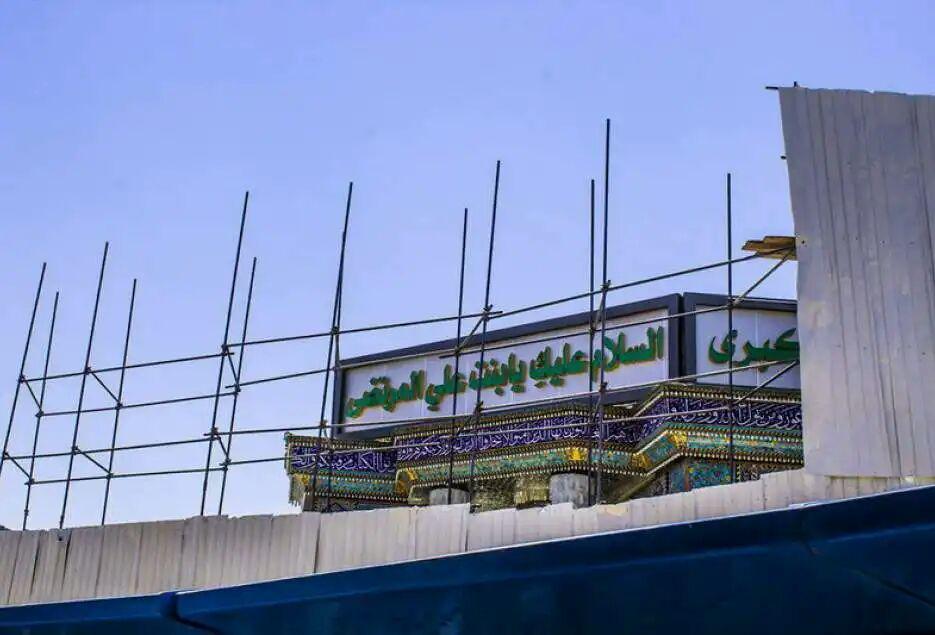 تصویر صحن تل زینبیه در کربلا ده برابر توسعه می یابد