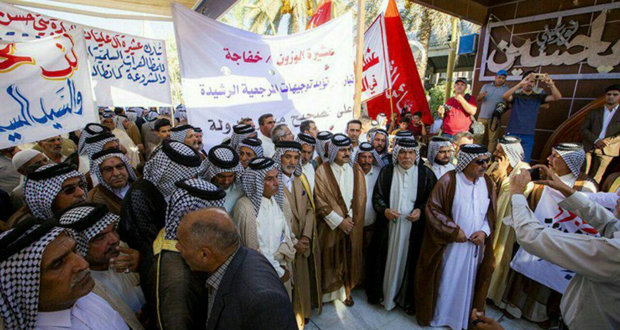 تصویر تظاهرات در شهرهای مختلف عراق؛ درخواست برای بهبود خدمات