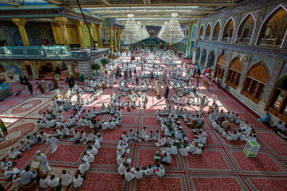 تصویر مدرسه قرآنی آستان مقدس عباسی