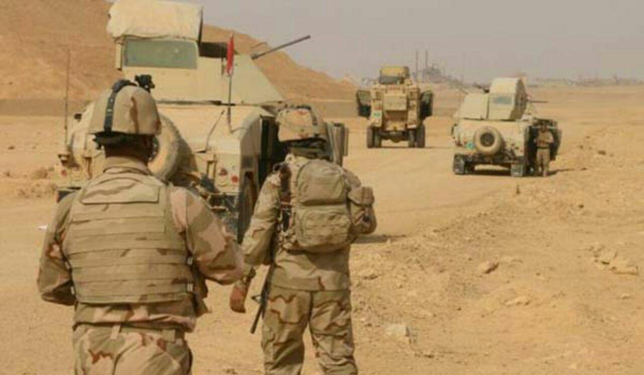 تصویر هلاکت ۱۶ تروریست داعشی در غرب عراق