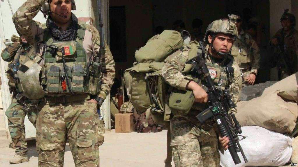 تصویر نیروی ویژه افغان برای مقابله با طالبان به غزنی اعزام شدند