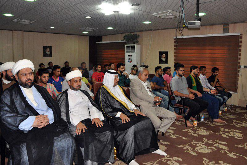 تصویر برگزاری جشن کمک به ۶۰ زوج جوان شهر بصره از سوی مؤسسه اهل بیت علیهم السلام