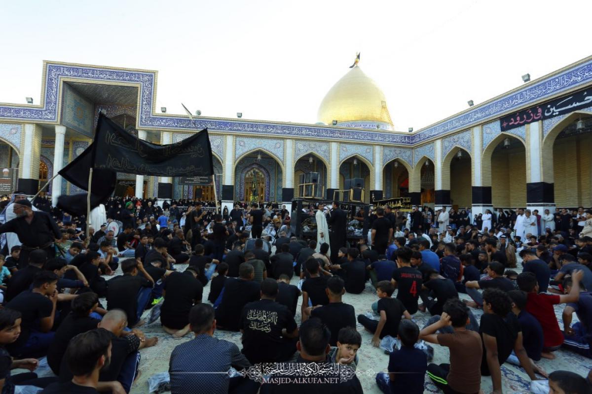 تصویر مراسم شهادت حضرت مسلم بن عقیل علیه السلام در کوفه