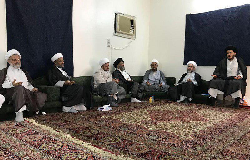 تصویر پایان فعالیت بعثه آیت الله العظمی شیرازی در مکه مکرمه
