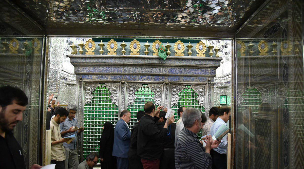 تصویر گزارش تصویری ـ مراسم پر فیض دعای عرفه درحرم حضرت عبدالعظیم حسنی علیه السلام در تهران