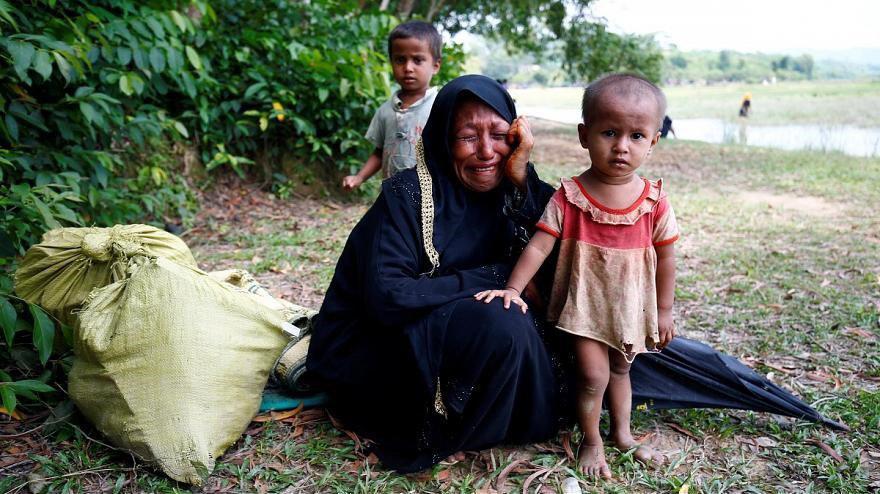 تصویر آنگ سان سوچی، مسلمانان میانمار را تهدید تروریستی خواند