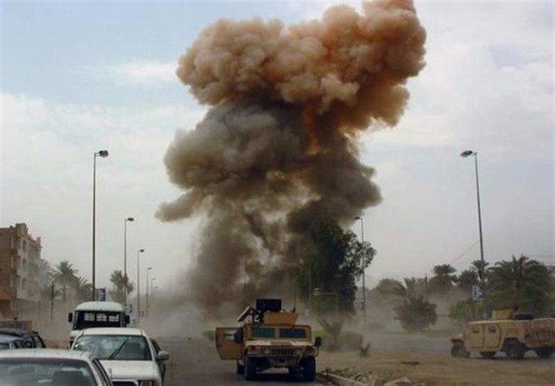تصویر حمله انتحاری در شمال صلاح الدین به نیروهای مردمی