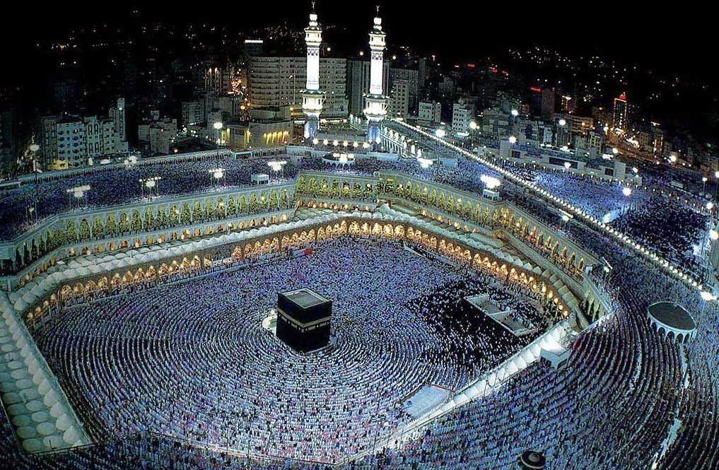 تصویر ثبت بیش از 29 میلیون تماس تلفنی روز عید قربان در مکه