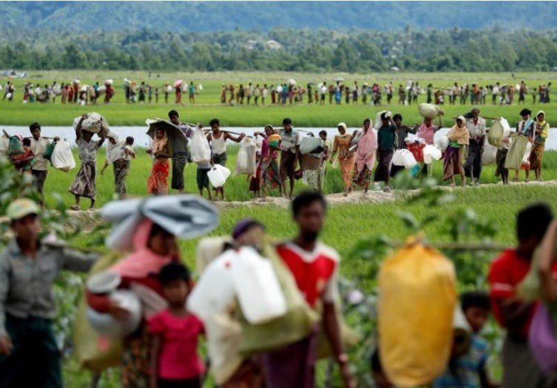 تصویر هشدار یونیسف درباره خطر انقراض نسل کودکان روهینگیایی