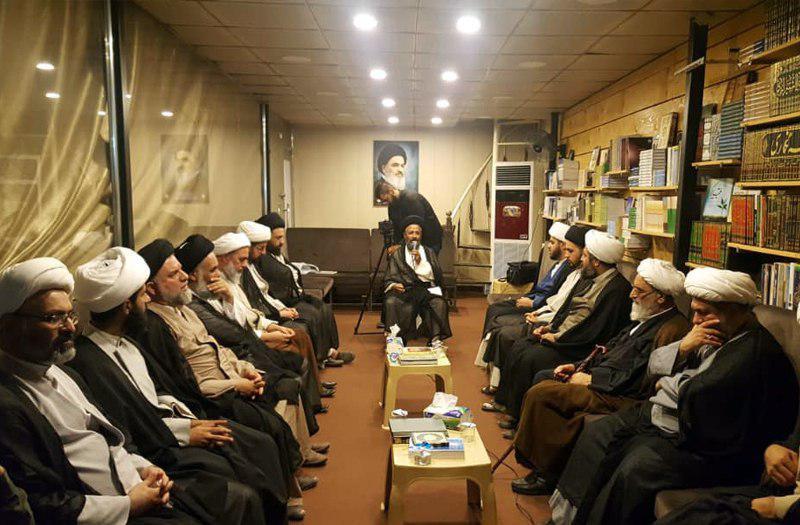 تصویر فعالیت های بعثه آیت الله العظمی شیرازی در ایام عرفه در کربلای معلی