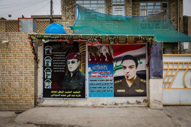 تصویر افسر عراقی با نفوذ در داعش ۳۰ عمليات انتحاری را ناکام گذاشت