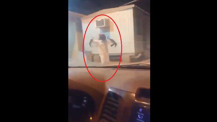 تصویر یک شهروند سعودی شیعیان نجران را تهدید به قتل کرد