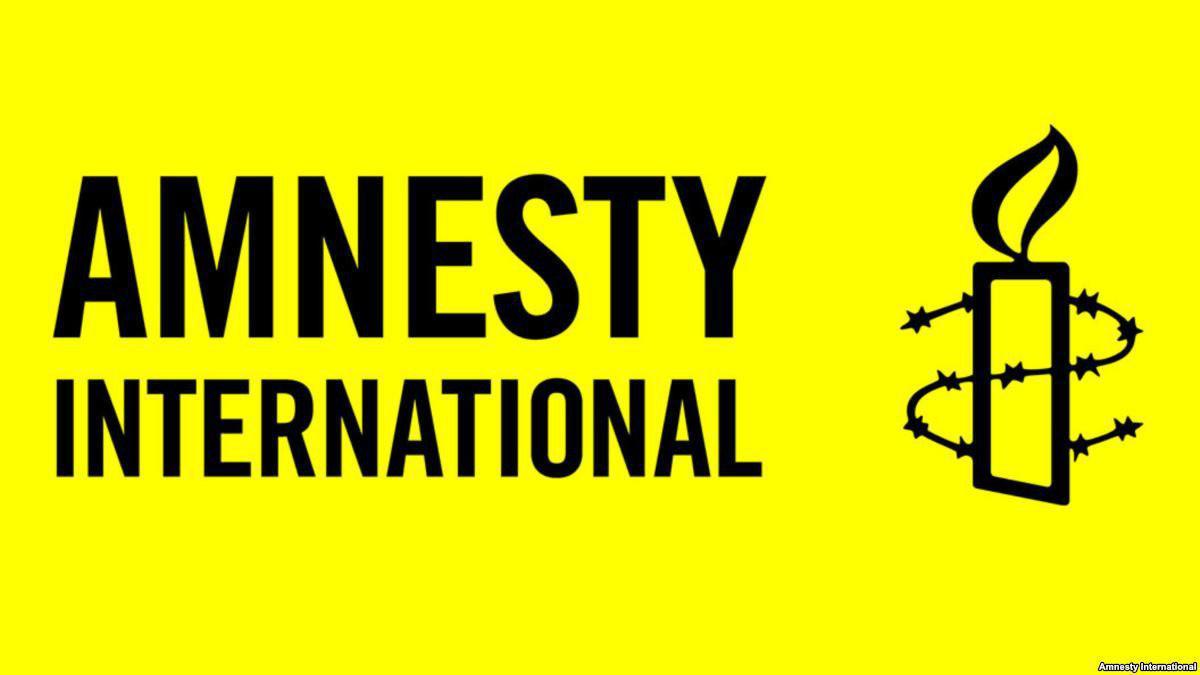 تصویر درخواست عفو بینالملل برای تحریم تسلیحاتی عربستان