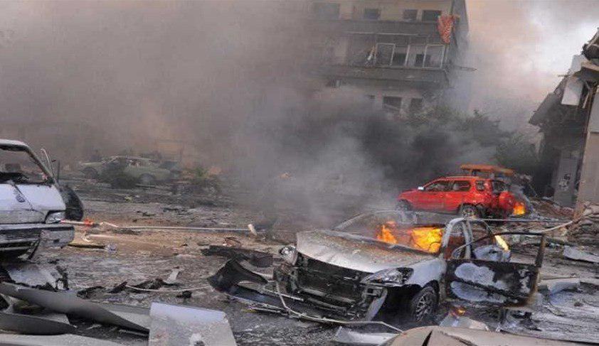 تصویر ۲۱ شهید و ۹ زخمی در انفجار تروریستی در الانبار عراق