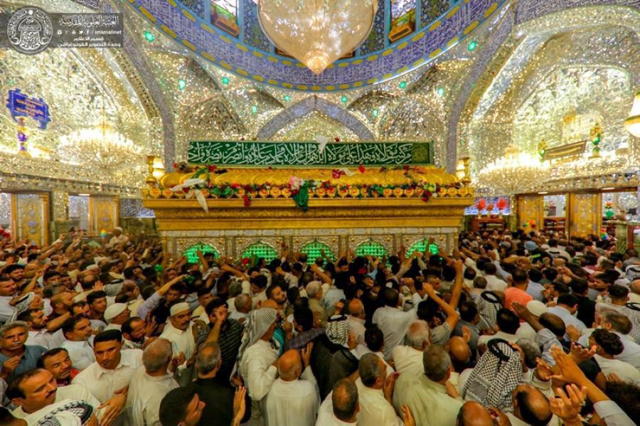 تصویر شور و سرور جهان، در عید الله الاکبر، عید سعید غدیر