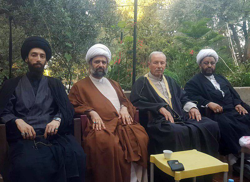 تصویر دیدار نمایندگان حوزه علمیه زینبیه با جمعی از علمای علوی کشور سوریه