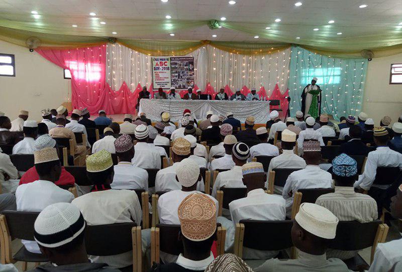 تصویر مراسم جشن فارغ التحصیلی دانش پژوهان مرکز دینی اهل البیت علیهم السلام در کشور تانزانیا