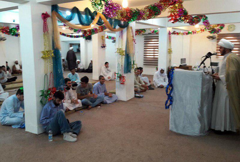 تصویر فعالیت های مجمع جهانی هیئات و مواکب حسینی در کشور عراق در ایام عید غدیر