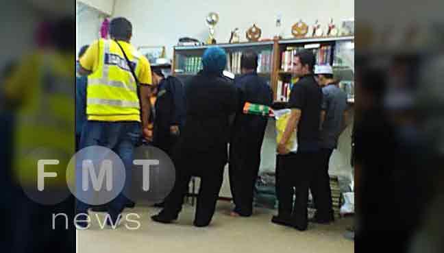 تصویر بازداشت ۱۱ تن از شیعیان مالزی در مراسم جشن عید سعید غدیر