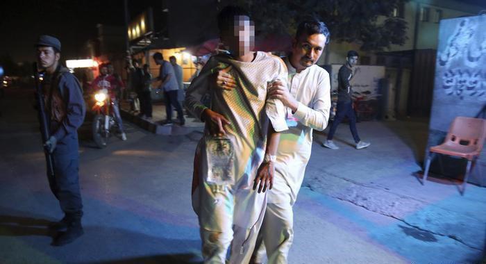 تصویر افزایش قربانیان انفجارهای کابل