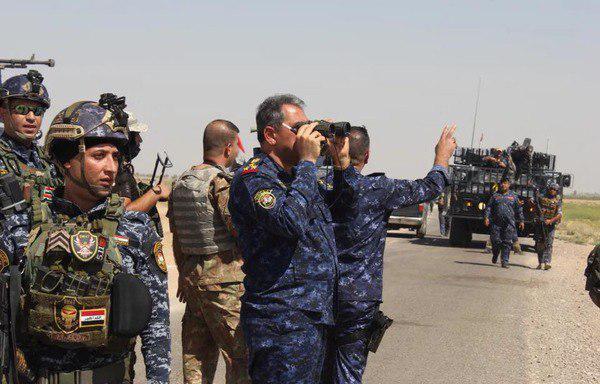 تصویر انهدام یک هسته تروریستی داعش در عراق