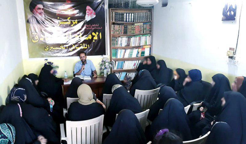 تصویر برگزاری سمیناری به مناسبت فرارسیدن ماه محرم الحرام در بغداد