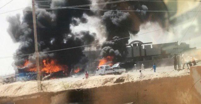 تصویر حمله انتحاری در تکریت عراق