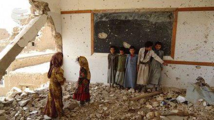 تصویر 6میلیون کودک یمنی برای تحصیل با مشکل روبرو هستند