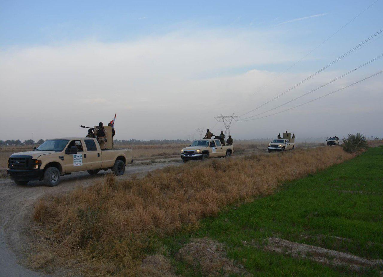 تصویر خنثی سازی عملیات داعش در جنوب سامرا