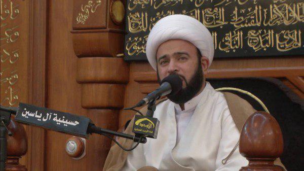 تصویر احضار روحانی شیعه بحرینی پس از شرکت در مراسم عزاداری امام حسین علیه السلام
