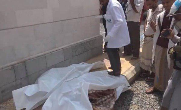 تصویر شهادت ۴ غیر نظامی در یمن
