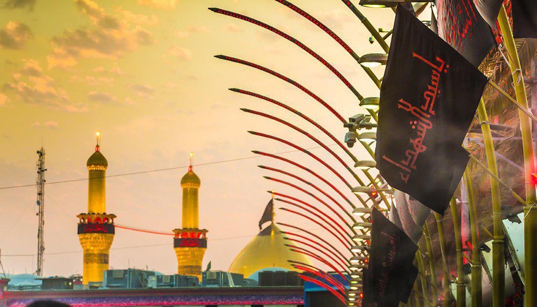تصویر ممنوعیت ورود هیئت های سیاسی به کربلا/ارائه خدمات بهداشتی به عزاداران حسینی