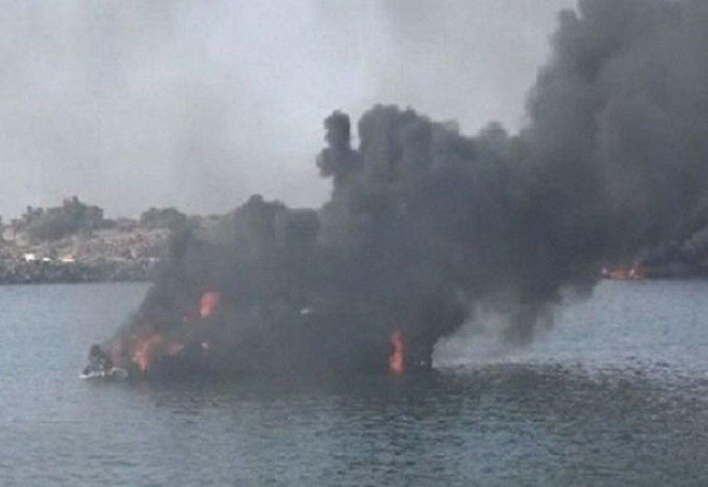 تصویر کشته شدن ۱۸ ماهیگیر یمنی در حمله ائتلاف سعودی