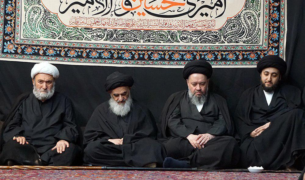 تصویر بزرگداشت روز دوازدهم محرم الحرام1440 در بیت مرجع عالیقدر