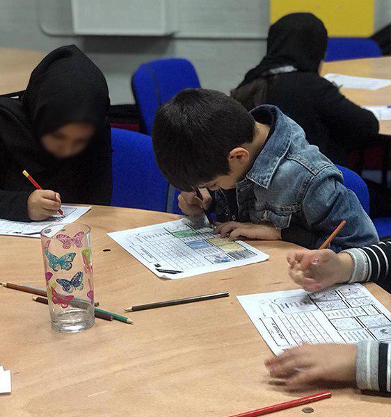 تصویر برنامه ویژه ماه محرم برای کودکان از سوی حسینیه رسول اعظم صلی الله علیه وآله در شهر لندن