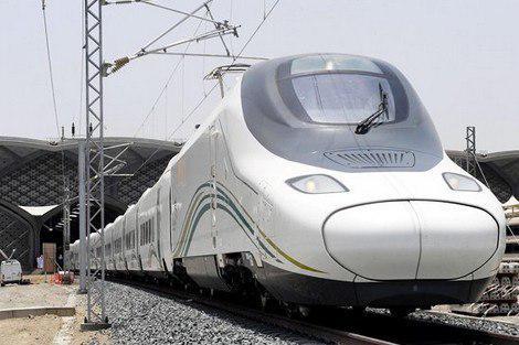 تصویر افتتاح قطار سریعالسیر مکه به مدینه