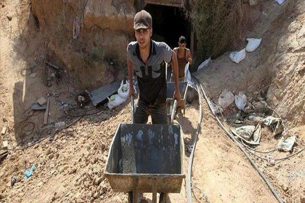 تصویر کشف تونلهای مخفی سنی های تندرو در ریف دمشق
