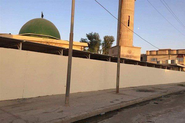 تصویر مسیحیان عراق؛ داوطلب بازسازی مسجد «توحید» نینوا