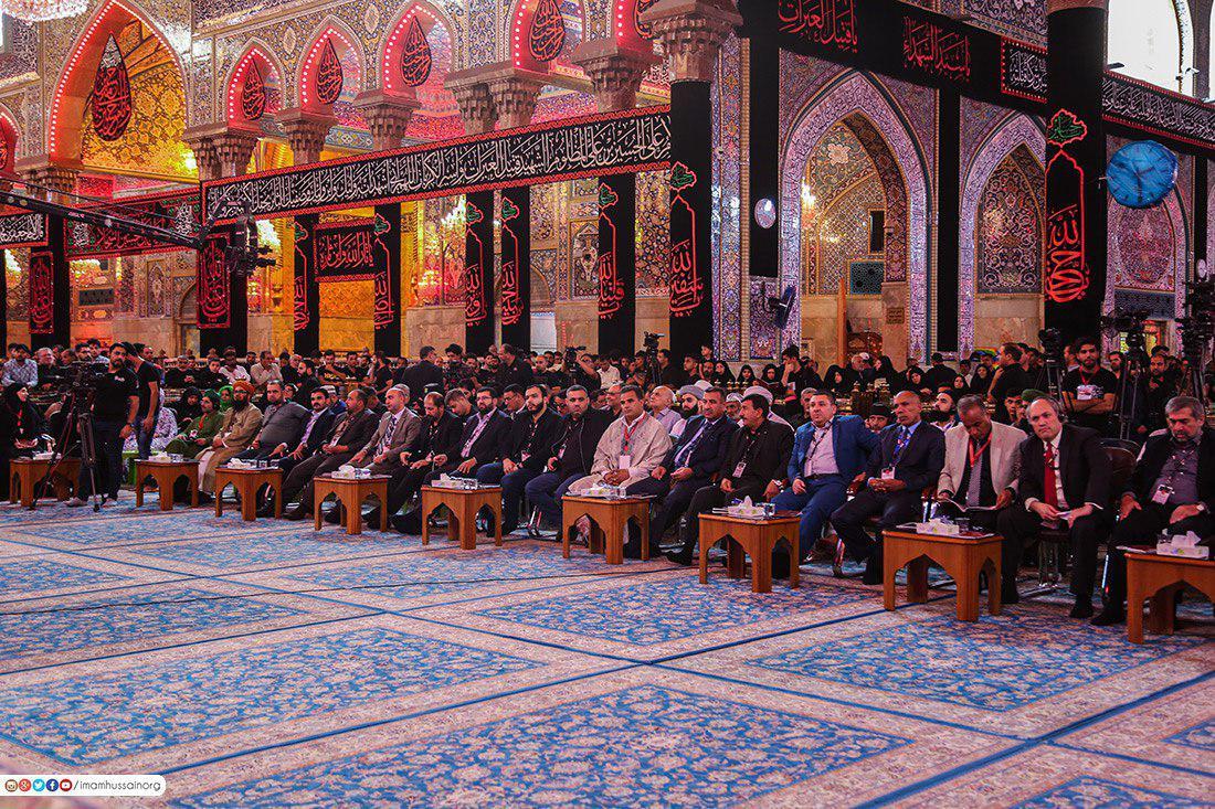 تصویر برگزاری جشنواره «تراتیل سجادیه» در کربلای معلی