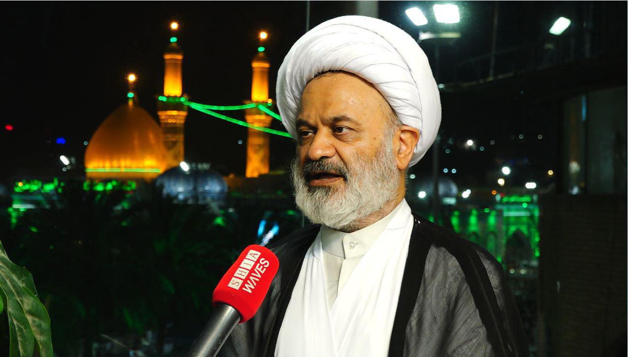 تصویر تلاش بنیاد آیت الله العظمی شیرازی برای لغو ویزای اربعین حسینی