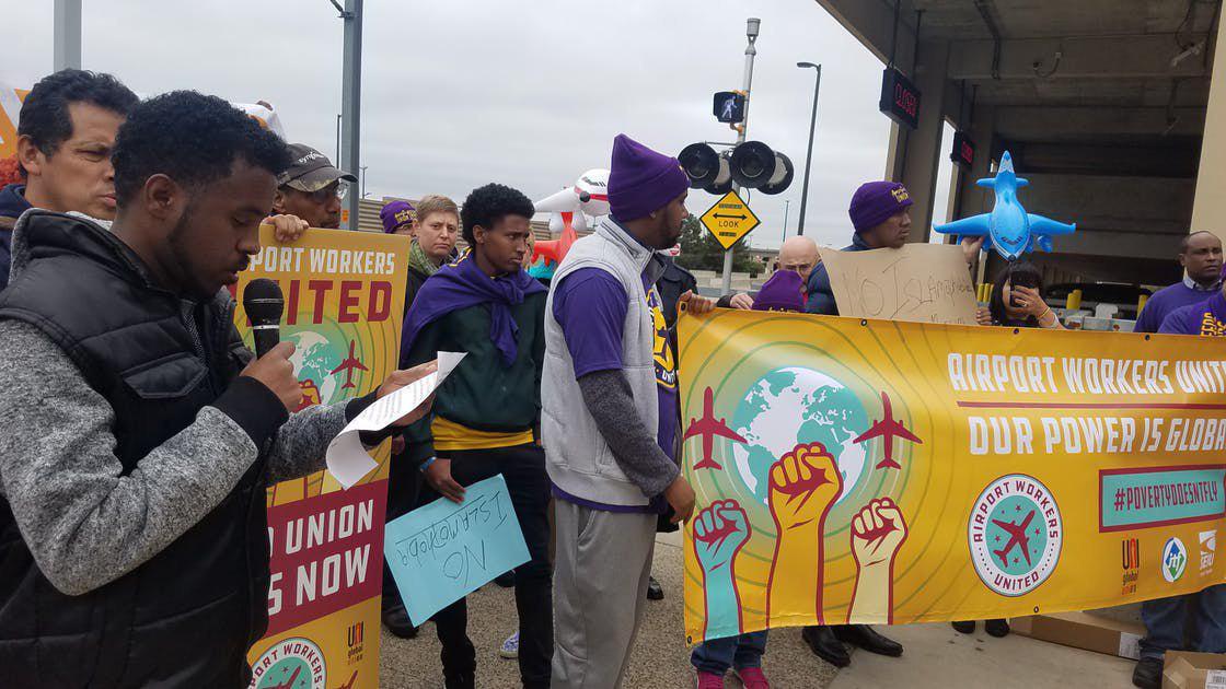 تصویر بازگشت به کار کارگران اخراجی مسلمان در آمریکا