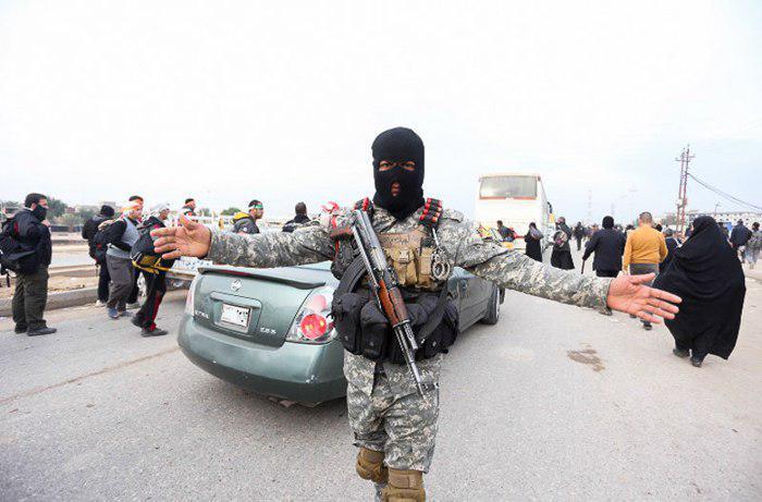 تصویر تقویت کمربند امنیتی بغداد و کربلای معلی