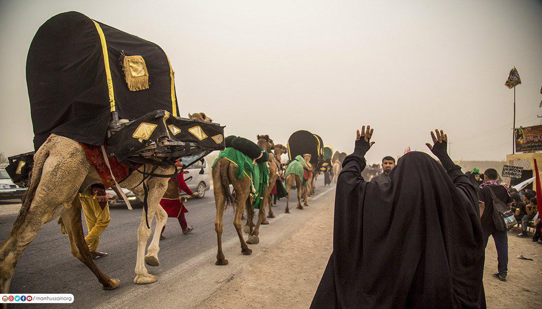تصویر گزارش تصویری ـ حرکت نمادین اسرا از بصره به سمت شهر مقدس کربلا در ایام زیارت میلیونی اربعین سید الشهدا علیه السلام