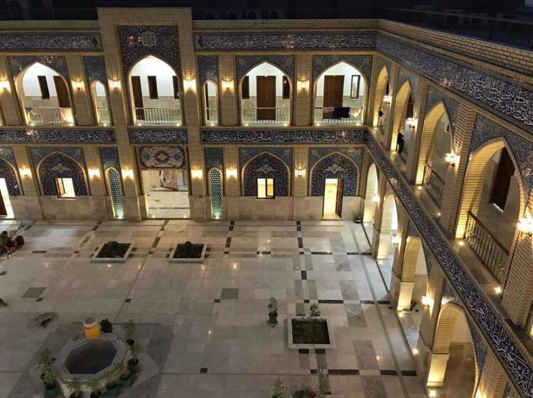 تصویر بازسازی مدرسه میرزای بزرگ شیرازی در سامرا
