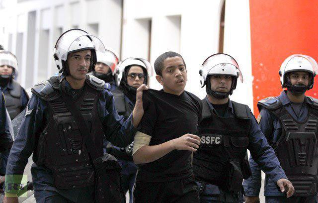 تصویر مسمومیت ۳۰ کودک و نوجوان بحرینی در زندان های بحرین
