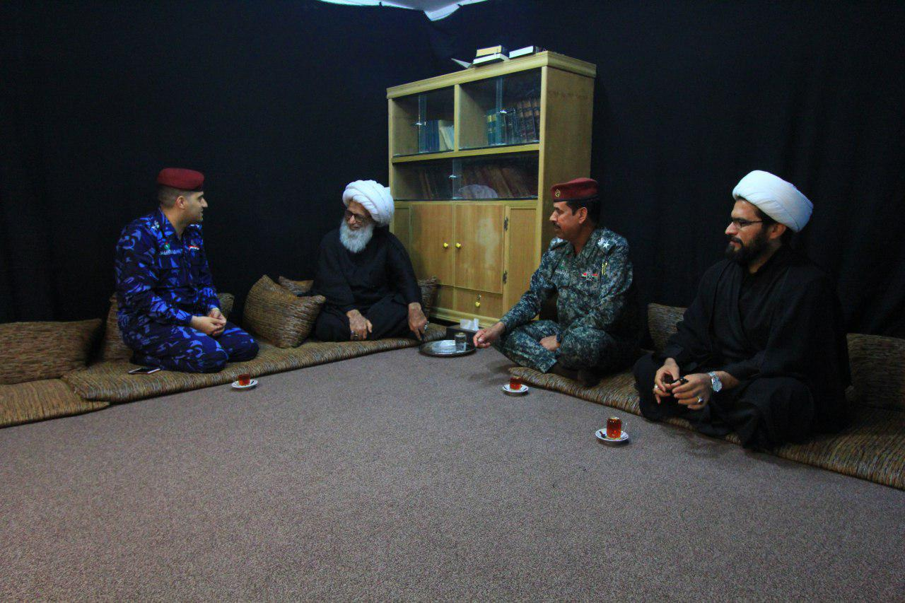 تصویر هشدار یکی از مراجع تقلید درباره نفوذ منافقان در بین مردم عراق
