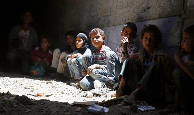 تصویر جان باختن یک غیر نظامی در یمن در هر سه ساعت