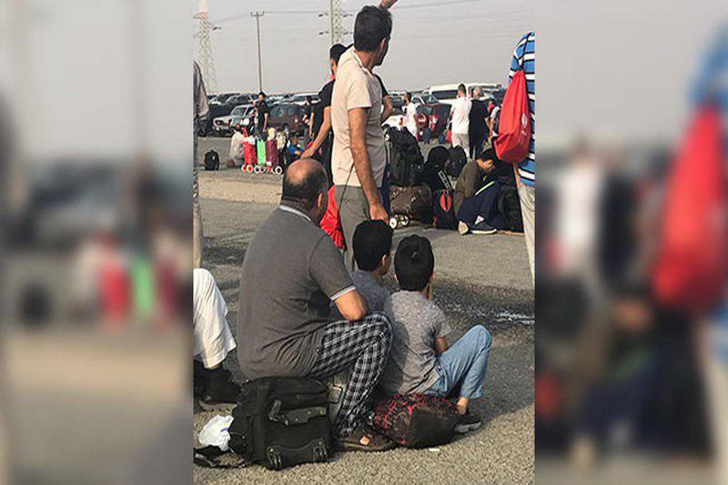 تصویر با وجود مشکلات فراوان؛  ۳هزار بحرینی از کویت به زیارت اربعین مشرف شدند
