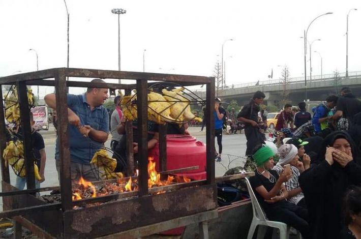 تصویر خدمات رسانی هزاران موکب به زائران اربعین در استان بابل