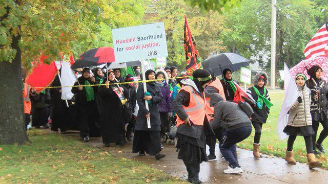تصویر مراسم  اربعین حسینی در پنسیلوانیا